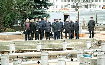 Ирек Ялалов всоставе группы сенаторов идепутатов проинспектировал исполнение национальных проектов вРеспублике Башкортостан