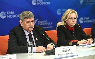 Михаил Козлов иОльга Ковитиди