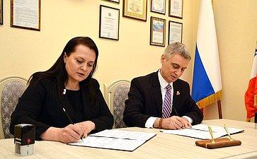 Сергей Фабричный подписал соглашения, направленные наразвитие системы бесплатной юридической помощи вНовгородской области