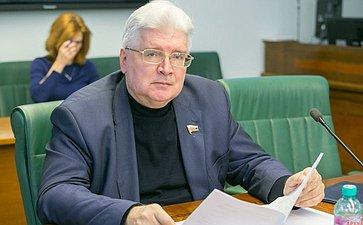 С. щеблыгин Заседание Комитета СФ понауке образованию икультуре