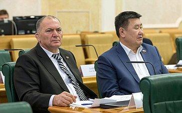 Крым Казаноков иВячеслав Мархаев