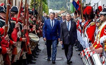 Визит делегации Совета Федерации вШвейцарию