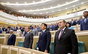 Открытие 358 заседания Совета Федерации