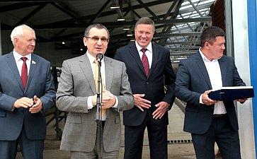 Н. Федоров посетил Вологодскую область иознакомился сдеятельностью сельскохозяйственных предприятий региона