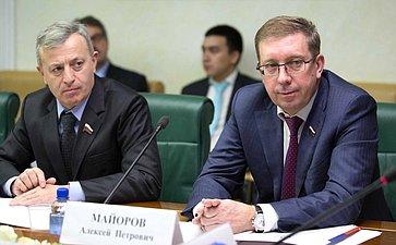 М. Ульбашев иА. Майоров