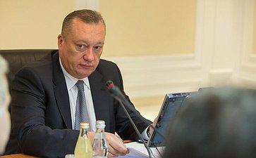 В. Тюльпанов Заседание Комитета СФ по Регламенту и организации парламентской деятельности