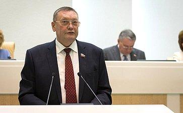 Спикер Тульской областной Думы С. Харитонов