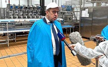 Рабочая поездка сенаторов Российской Федерации вКраснодарский край