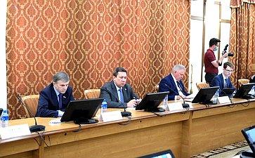 Рабочее совещание врамках выездного заседания Комитета СФ поРегламенту иорганизации парламентской деятельности вг. Краснодаре