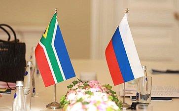 Встреча Председателя Совета Федерации Валентины Матвиенко сПредседателем Национальной ассамблеи Парламента Южно-Африканской Республики Носививе Маписа- Нкакулой