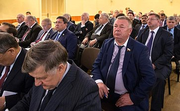 Совместное заседание Президиума Научно-экспертного совета иСовета повопросам АПК иприродопользования натему «Обеспечение продовольственной безопасности Российской Федерации»