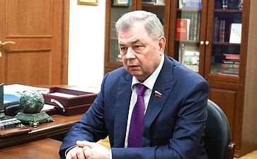 Встреча Анатолия Артамонова сгубернатором Ставропольского края Владимиром Владимировым