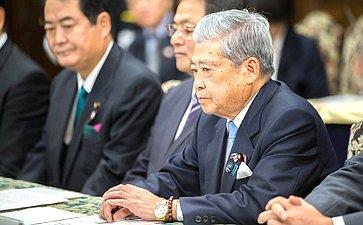 Председатель Палаты советников Парламента Японии Т.Дате