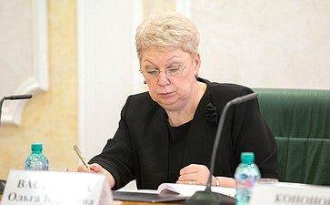 Министр образования РФ О. Васильева