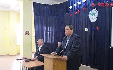 Владимир Полетаев провел встречи сжителями Усть-Коксинского района