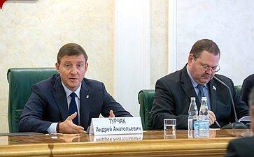 Андрей Турчак иОлег Мельниченко