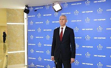 Брифинг Олега Матыцина
