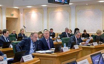 Заседание Комитета поконституционному законодательству игосударственному строительству