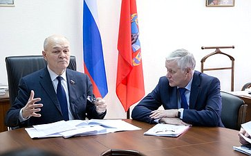 Встреча М. Щетинина сделегацией Кировской области