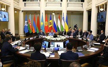 Заседание Совета Межпарламентской Ассамблеи СНГ
