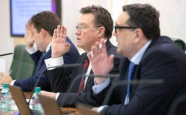 ВСовете Федерации прошло заседание Комитета побюджету ифинансовым рынкам