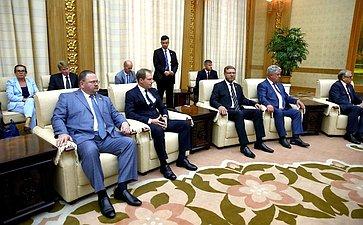 Встреча сПредседателем Президиума Верховного Народного Собрания КНДР Ким Ён Намом