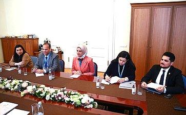 Встреча Г. Кареловой сделегацией Бахрейна