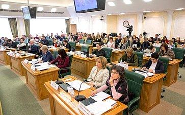 Парламентские слушания Комитета СФ поконституционному законодательству игосударственному строительству
