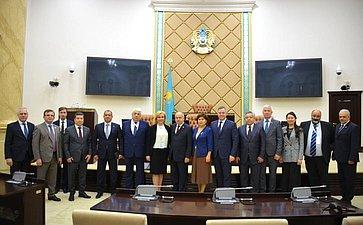 Визит группы международных наблюдателей отМПА СНГ надосрочные выборы Президента Республики Казахстан