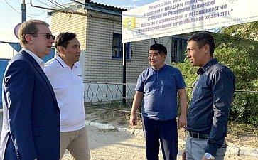 Алексей Майоров совершил рабочую поездку вРеспублику Калмыкия
