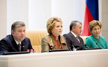 374-е заседание Совета Федерации Президиум