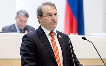 Морозов 380-е заседание Совета Федерации