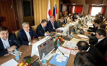 Совместное заседание Консультативного совета посодействию российско-японскому межпарламентскому имежрегиональному сотрудничеству