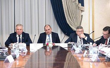 Встреча членов Совета палаты сПредседателем Правительства РФ Д.Медведевым