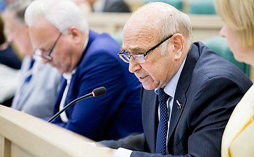 376-е заседание Совета Федерации Рогоцкий