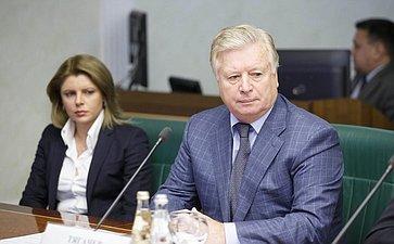 Л. Тягачев Очередное заседание Комитета общественной поддержки жителей Юго-Востока Украины