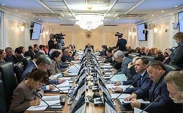 Заседание президиума Совета поАрктике иАнтарктике при Совете Федерации