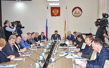 ВоВладикавказе состоялось выездное заседание Комитета СФ помеждународным делам