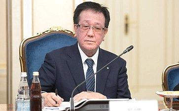 Вице-губернатор Хоккайдо (Япония) Ясухиро Цудзи