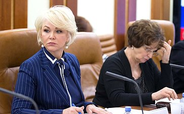 Заседание рабочей группы посовершенствованию законодательства повопросам поддержки многодетных семей