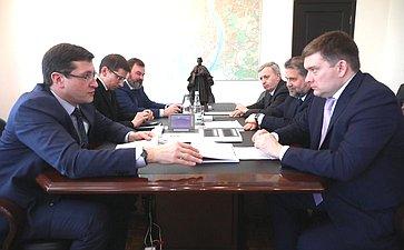 Николай Журавлев срабочей поездкой посетил Нижегородскую область