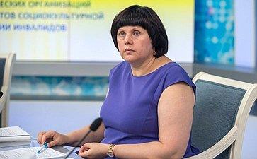 Е.Афанасьева: Лучшие практики социокультурной реабилитации инвалидов должны быть распространены повсей стране