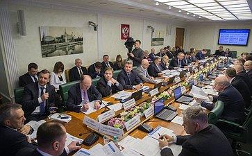 Расширенное заседание Комитета СФ по экономической политике