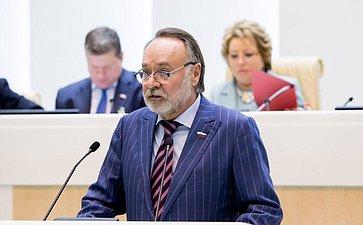 376-е заседание Совета Федерации. Тотоонов
