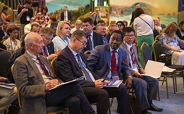Пленарное заседание V Международного гуманитарного Ливадийского форума