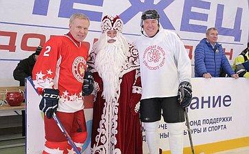 Ю. Воробьев открыл Ледовый дворец «Онежец» вВологодской области