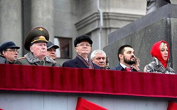 Парад Памяти, посвященный 78-й годовщине военного парада 7ноября 1941года вКуйбышеве