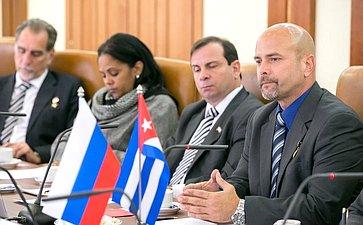 Встреча сделегацией кубинских героев– антитеррористов