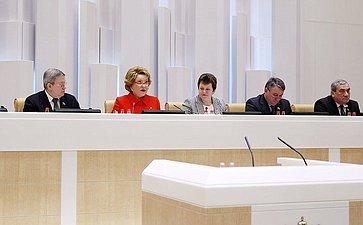 Триста двадцать седьмое заседание Совета Федерации Федерального Собрания Российской Федерации
