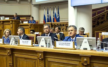 Пленарное заседание шестого Международного конгресса «Безопасность надорогах ради безопасности жизни»